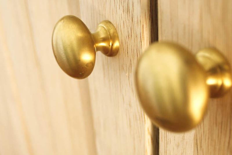 金物:真鍮製オリジナル製品